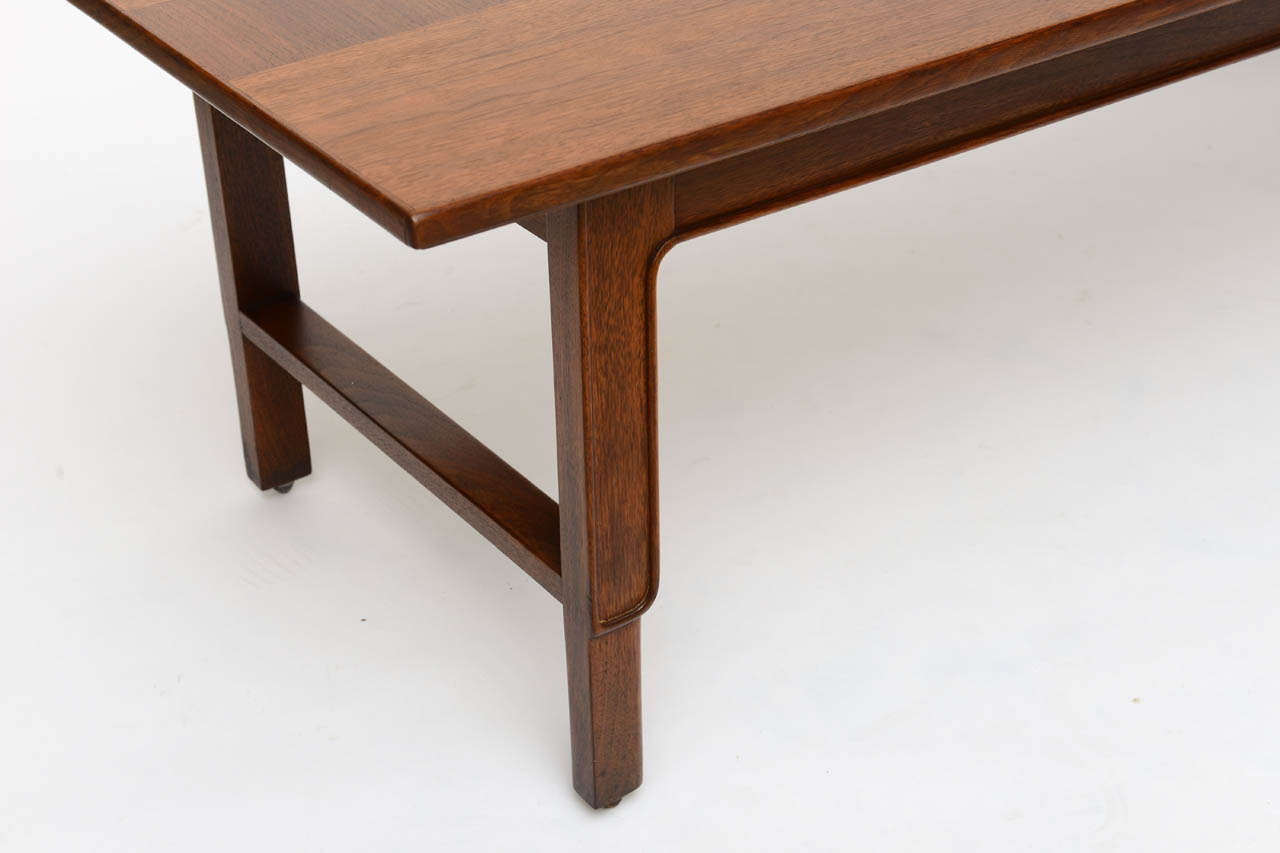 John Stuart Janus Collection Long Board Coffee Cocktail Table For Sale 3