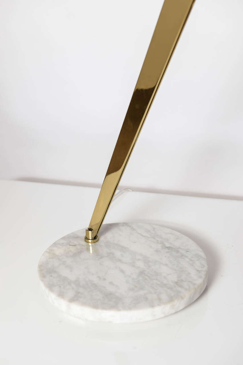 Sculptural brass 2 arm table lamp for sale at 1stdibs for 2 arm table lamp