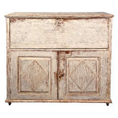 Early 19th Century Gustavian Drop Front Secretaire