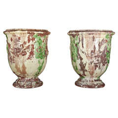 Large Pair Of Anduze Urns
