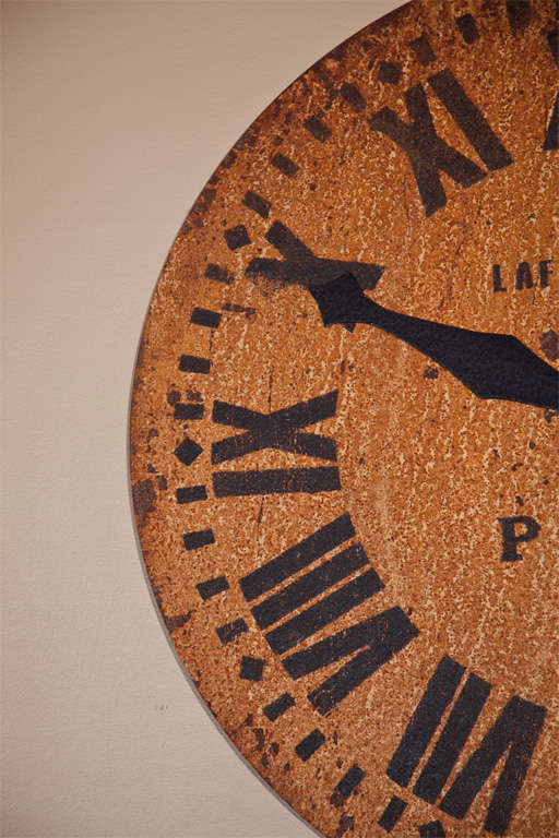 Large Decorative Clock Face At 1stdibs