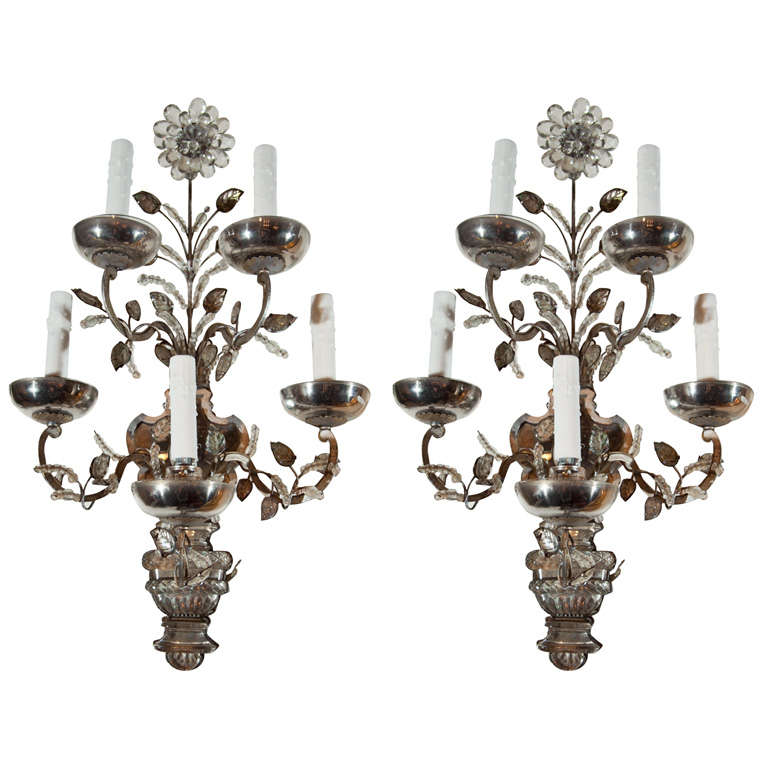 Baguès sconces, 1890, offered by Avery & Dash Collections