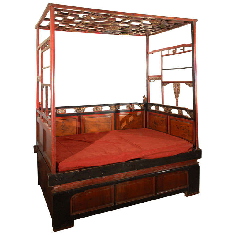 Chinese opium bed at 1stdibs for China furniture bed