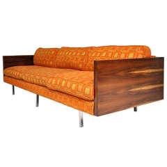 Milo Baughman Rosewood Case Sofa