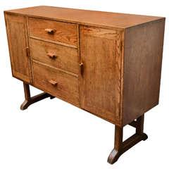 Arts + Crafts Oak Cabinet