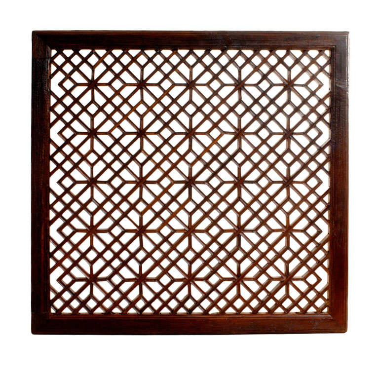 Moroccan Fretwork Panels: Chinese Fretwork Panel At 1stdibs
