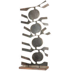 1950s Free-Form Iron Sculpture