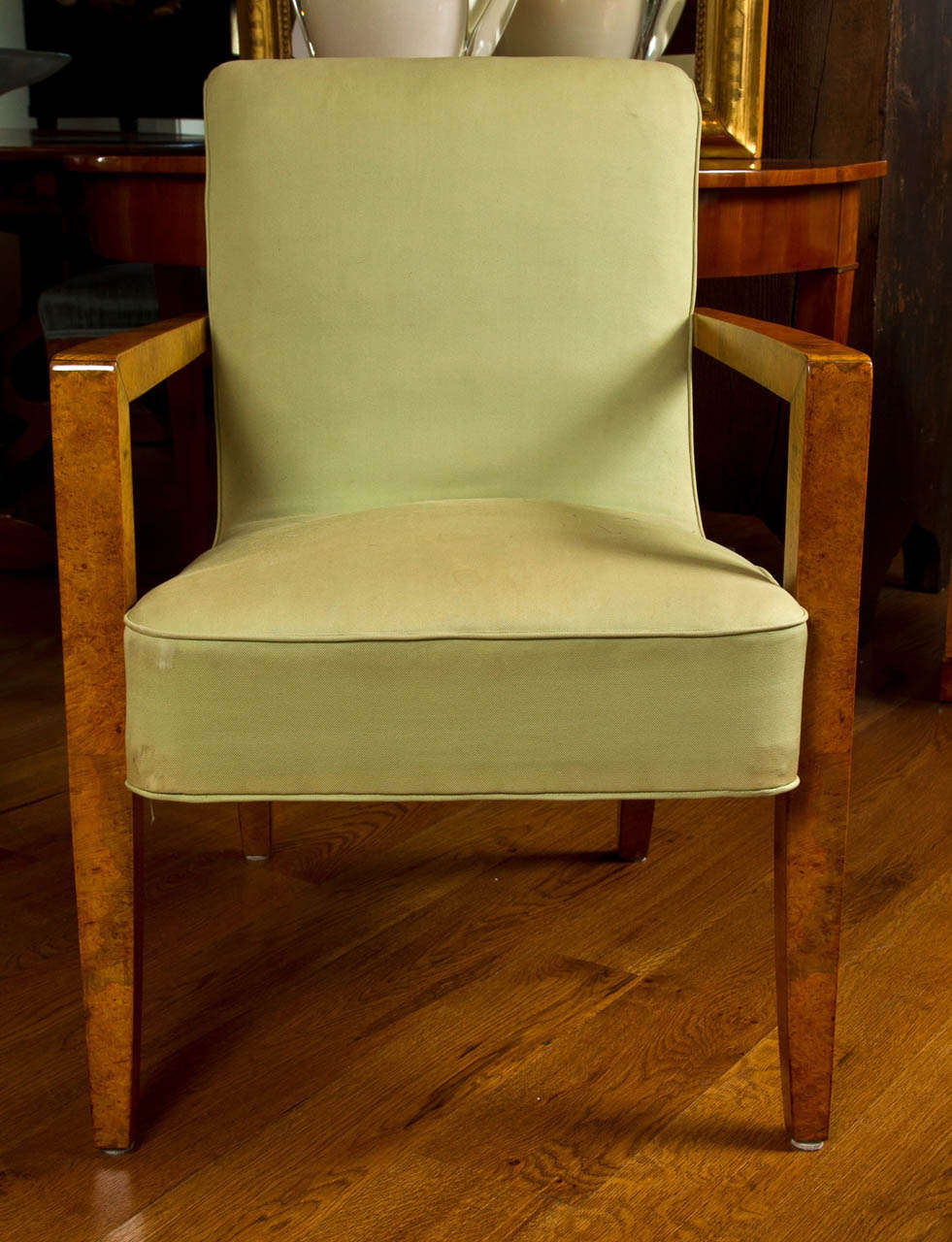 Large pair of italian designed armchairs for sale at 1stdibs for Oversized armchairs for sale