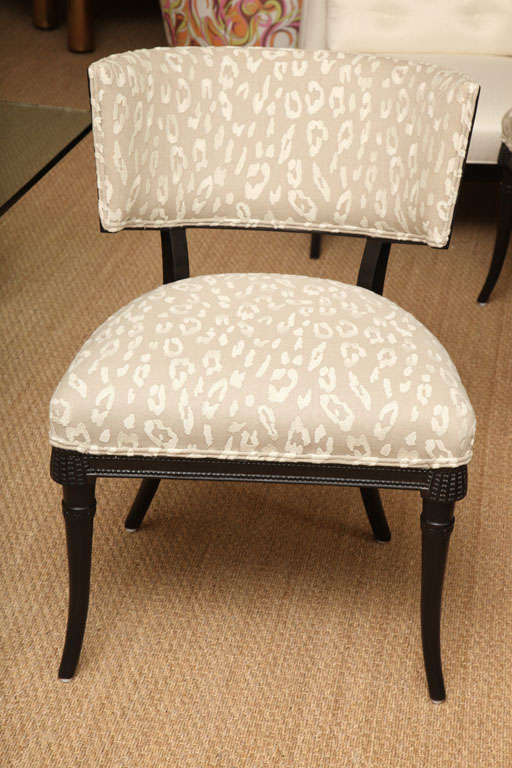 Sculptural Grosfeld House Side or Slipper Chairs Mid-Century Modern For Sale 2