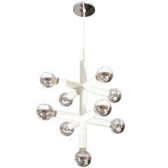 Five-Arm Lightolier Chandelier