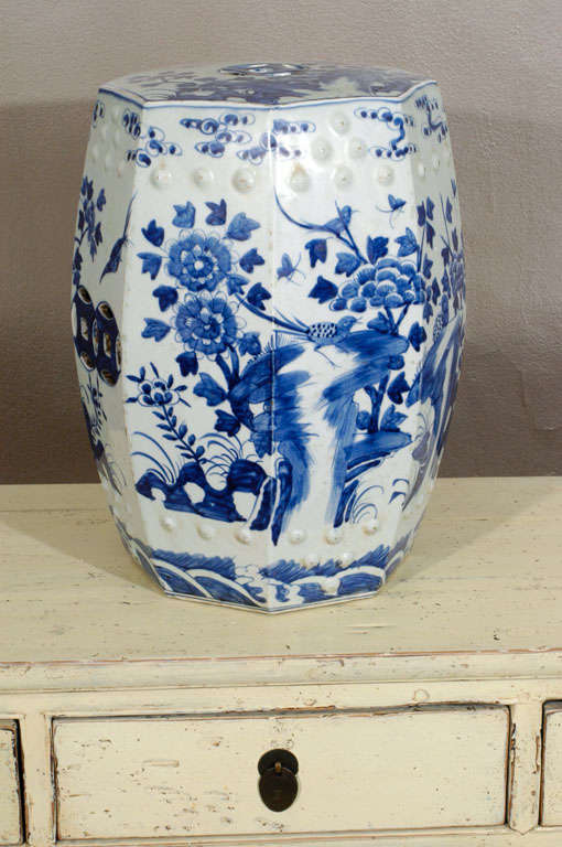 Porcelain Garden Seat 3
