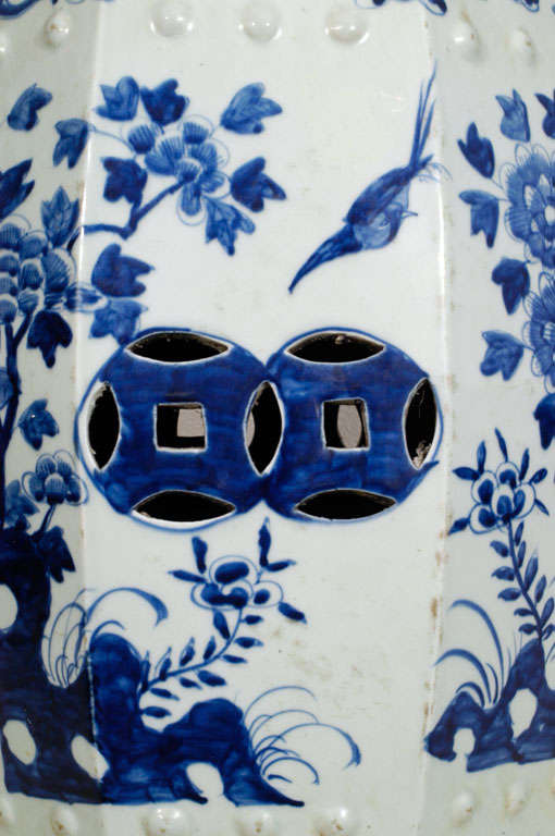 Porcelain Garden Seat 4