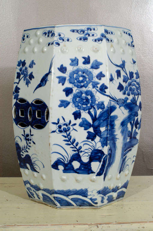 Porcelain Garden Seat 7