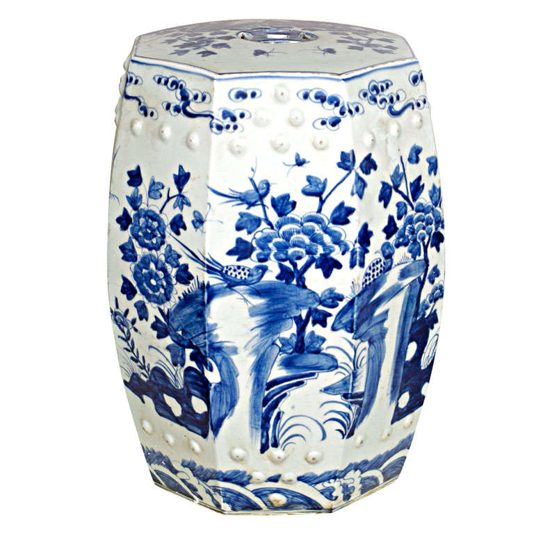 Porcelain Garden Seat 1