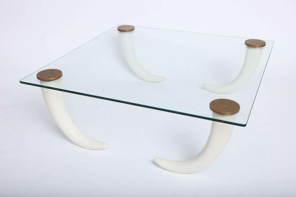 henredon elephant tusk coffee table at 1stdibs
