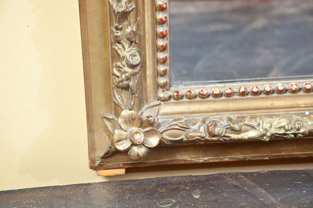 19th Century French Louis Philippe style Mirror For Sale