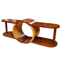 Art Moderne low  table or a pair of side tables