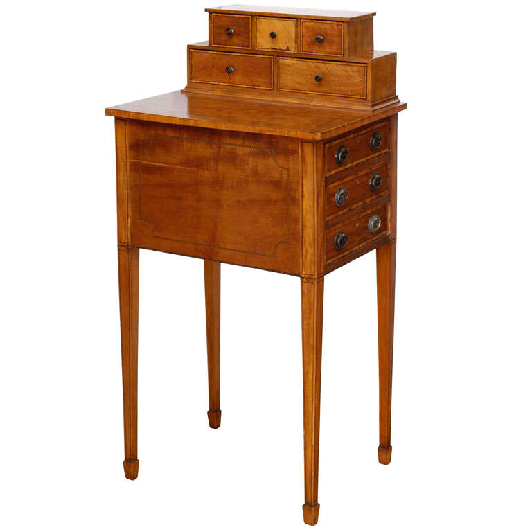 Adams Style Small Writing Desk at 1stdibs cAr1w7Bk
