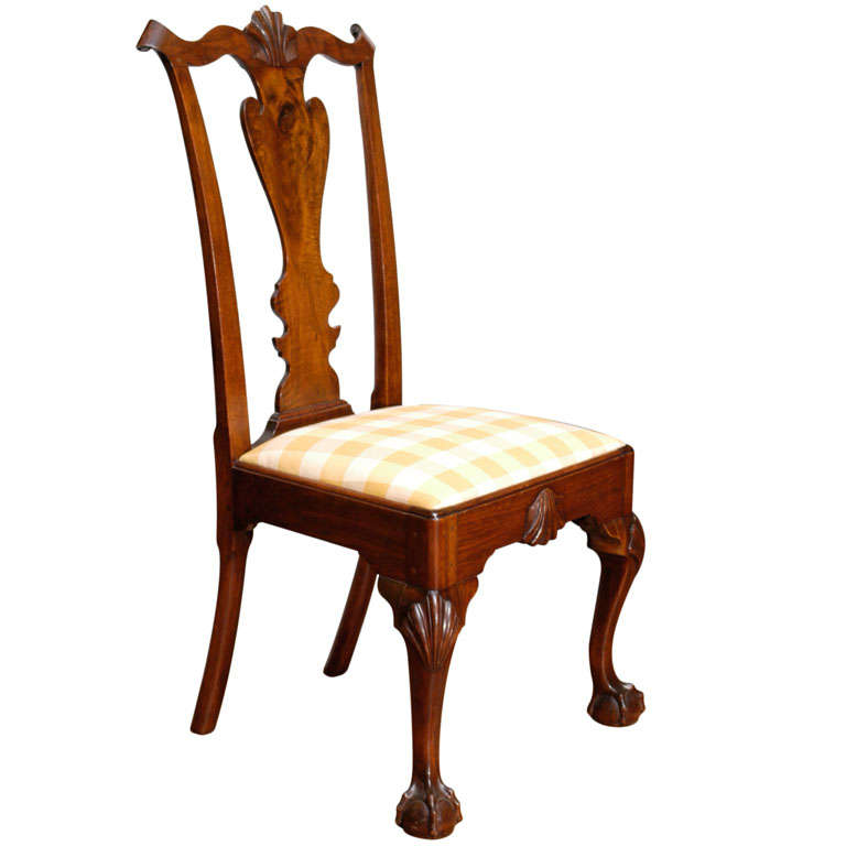 Philadelphia Chippendale Period Chair At 1stdibs