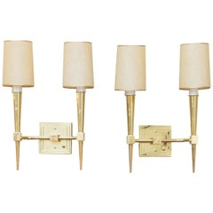Pair of Tommi Parzinger Wall Sconces