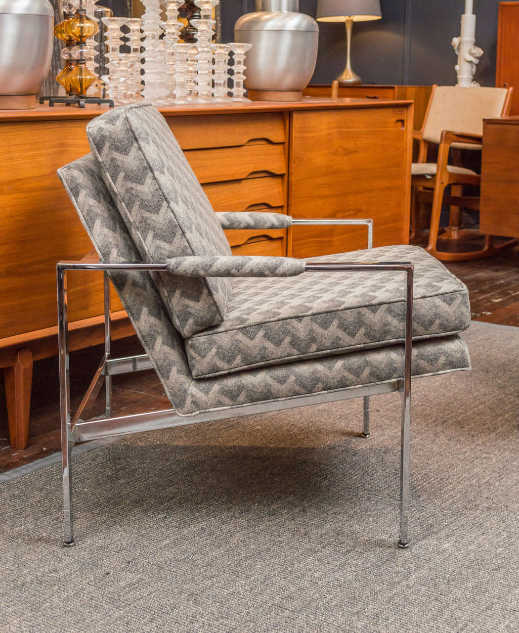 Milo Baughman Lounge Chairs In Excellent Condition For Sale In San Francisco, CA