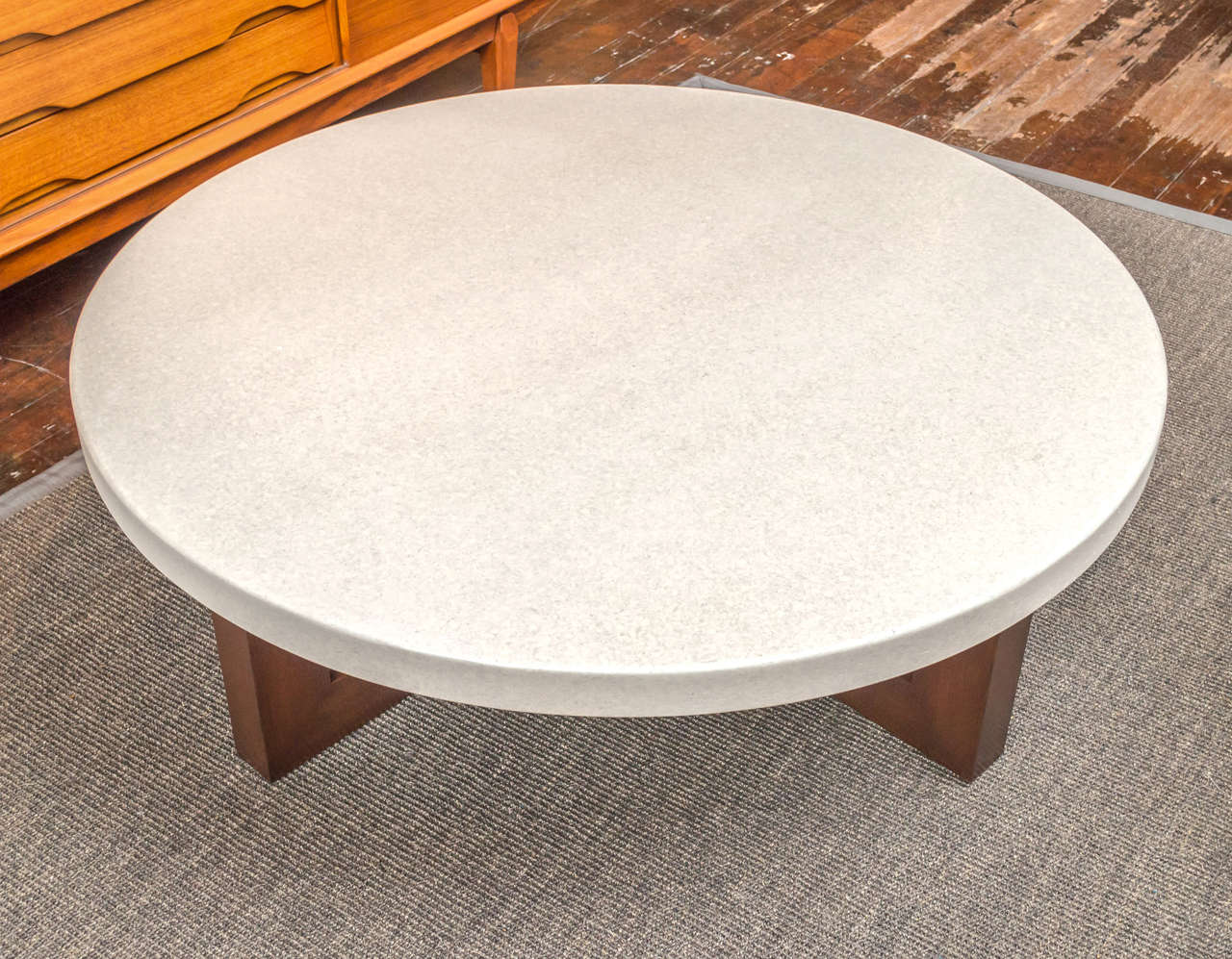 Paul frankl cork coffee table at 1stdibs paul frankl cork coffee table 3 geotapseo Gallery