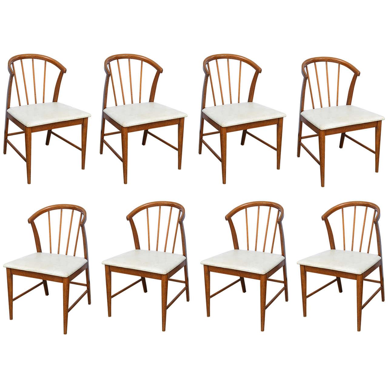 This four wishbone chairs by hans wegner is no longer available - Walnut Danish Wishbone Chairs Wegner Style 1960s At 1stdibs