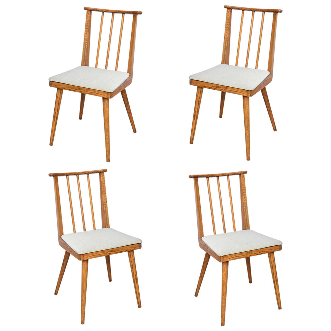 Paul McCobb Wood Dining Chairs--1960s