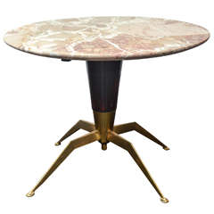 Gio Ponti Style Round Side Table
