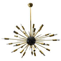 Italian Sputnik Chandelier by Stilnovo