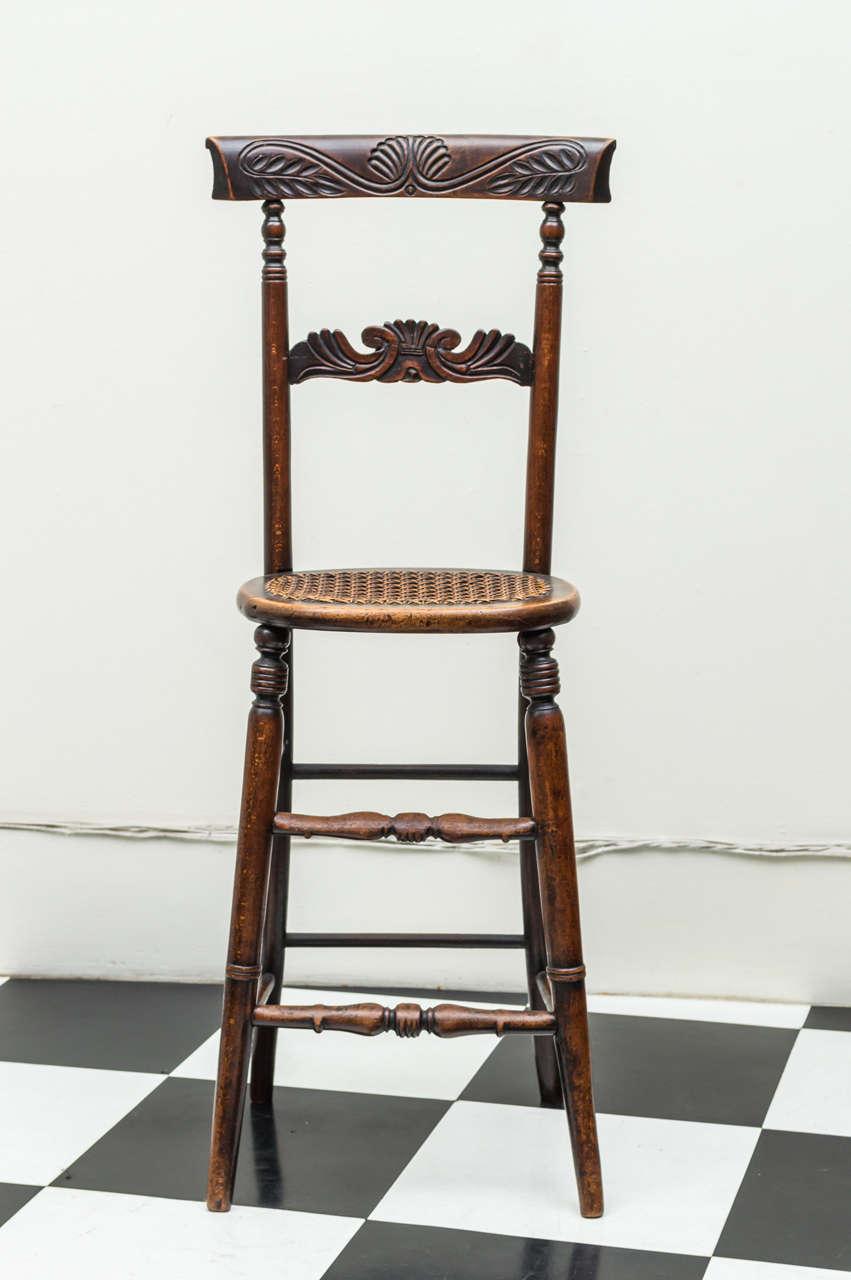 English William Iv Mahogany Posture Quot Discipline Quot Chair