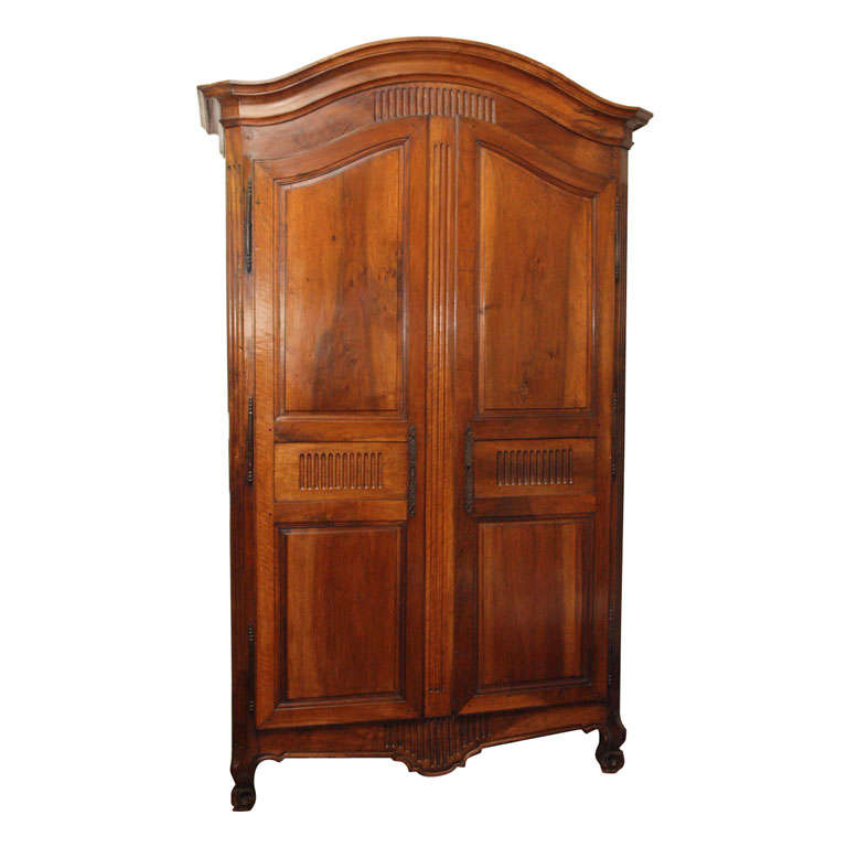 early louis xvi armoire at 1stdibs. Black Bedroom Furniture Sets. Home Design Ideas