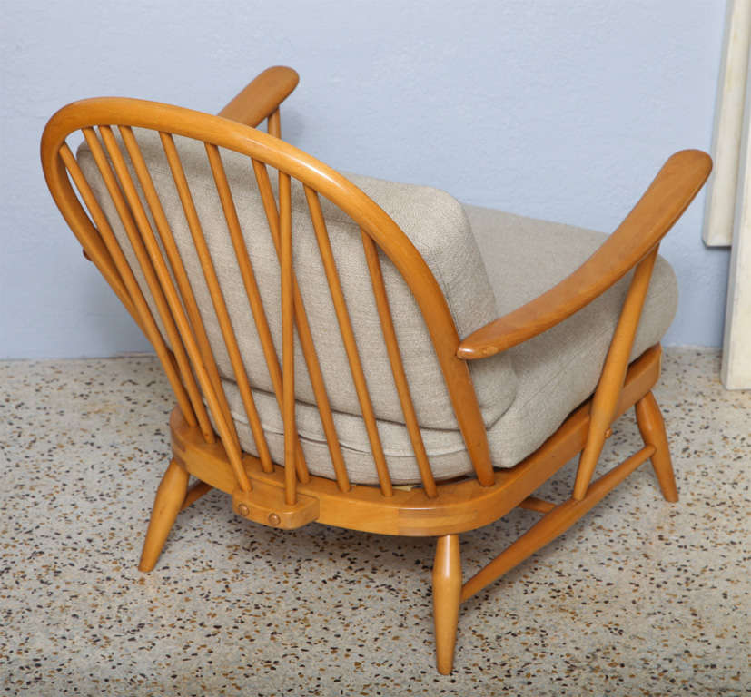 Pair Of Armchairs By Lucien Ercolani At 1stdibs