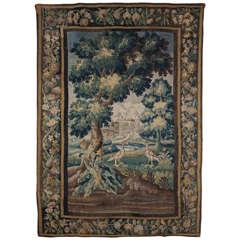 A Fine Louis XIV Verdure Tapestry, Aubousson