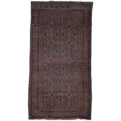 Rare Antique Kothan Carpet or Rug late 19th Century