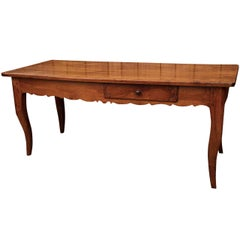 French Fruitwood Work Table