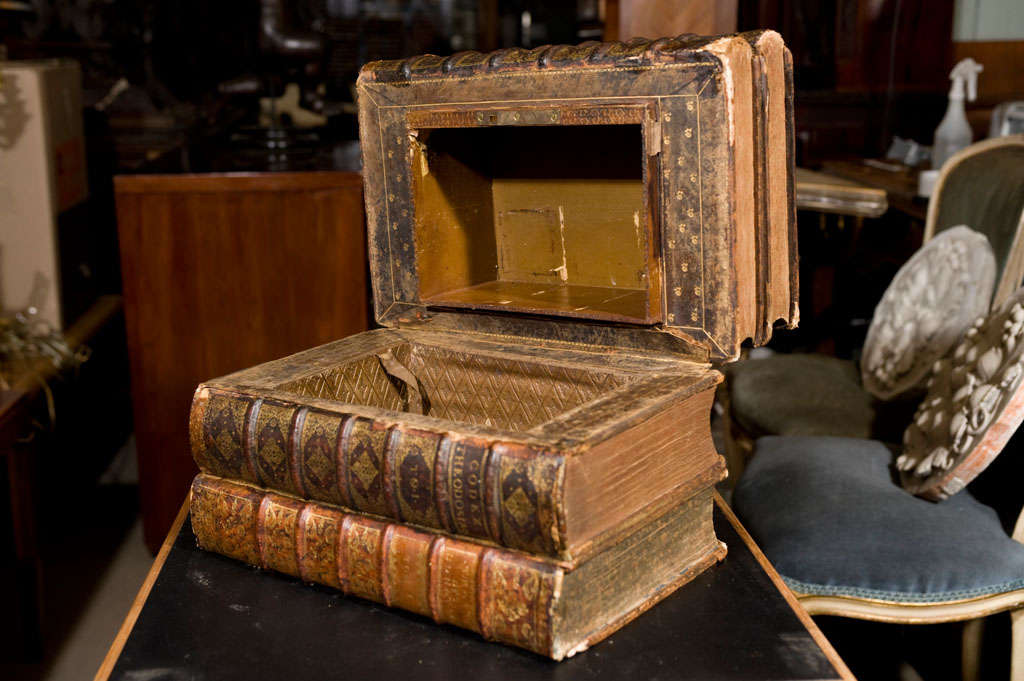 Large 18th century leather book conversion 4