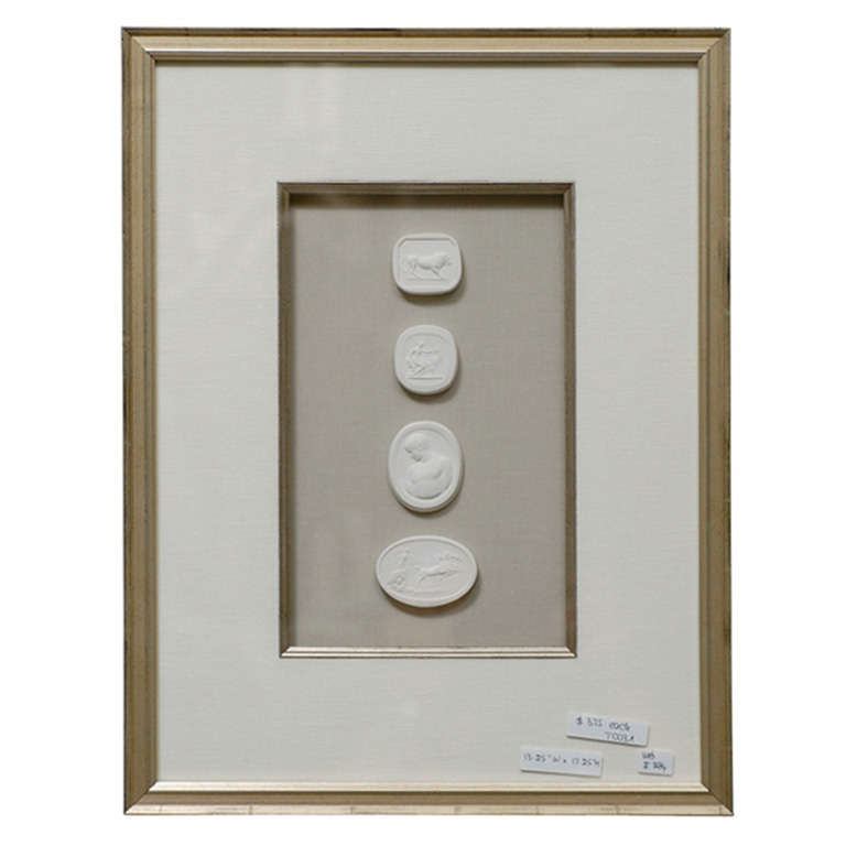 framed intaglios 1