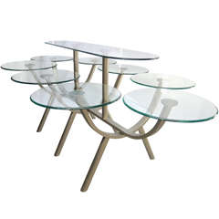 """Dining Table by Design Institute of America """"Circle of Life"""""""