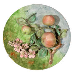 Decorative Majolica Plate- Longchamp