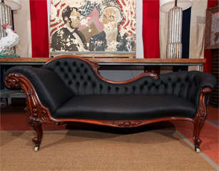 Carved Fancy Sofa in Rubber image 2