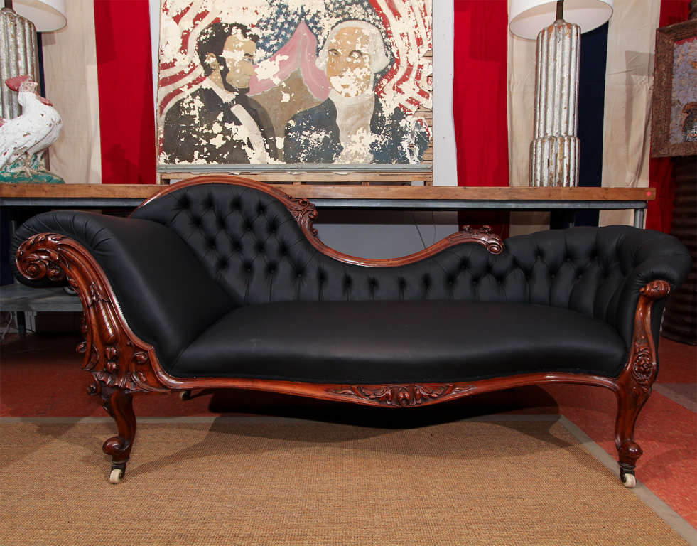 Carved Fancy Sofa in Rubber 2