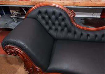 Carved Fancy Sofa in Rubber image 3