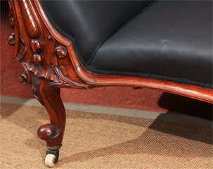 Carved Fancy Sofa in Rubber image 5