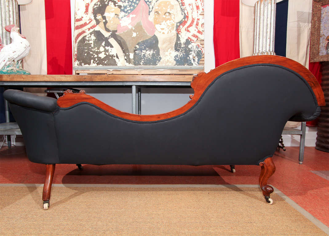 Carved Fancy Sofa in Rubber 10