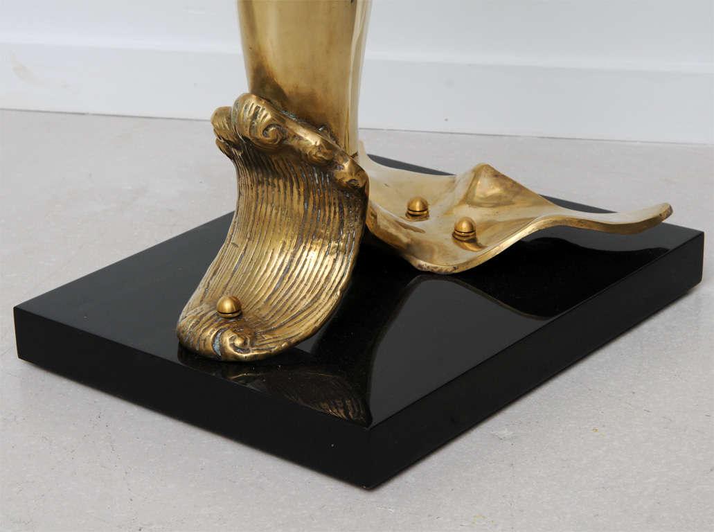 Brass Dolphin Sculpture 8