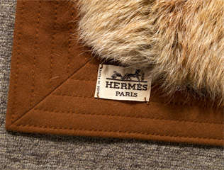 Hermes Orylag Fur Throw image 5