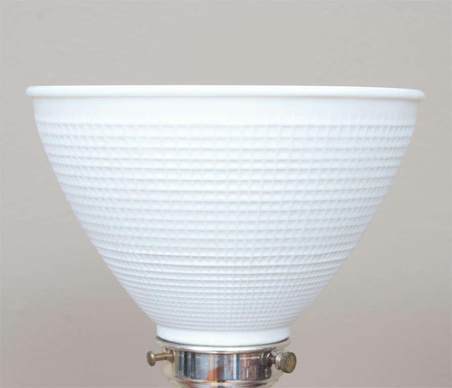 Regency Style Sheffield Silver Plate Lamp 4
