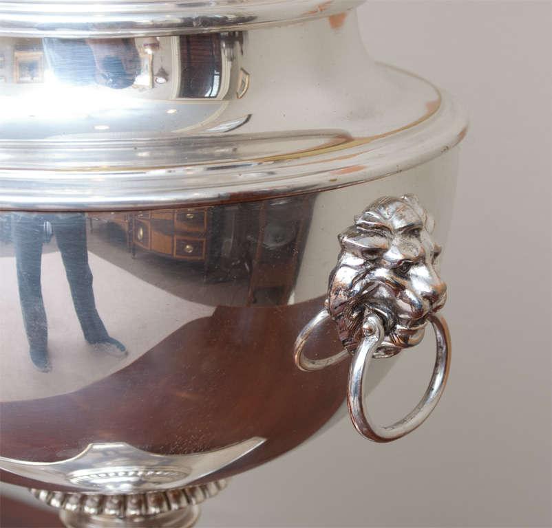 Regency Style Sheffield Silver Plate Lamp image 6