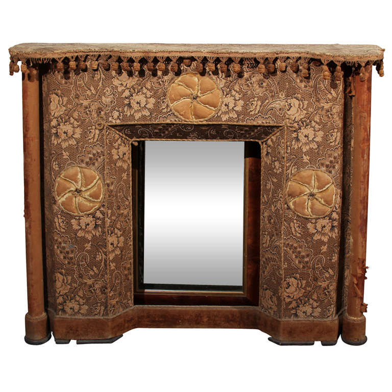 Victorian Fireplace Surround At 1stdibs